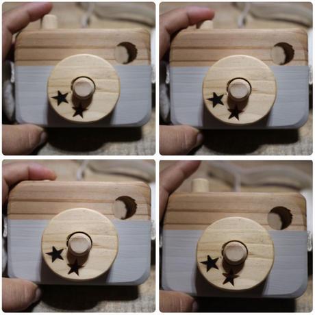 wood camera(natural wood series)