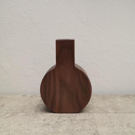 flower vase ・walnut