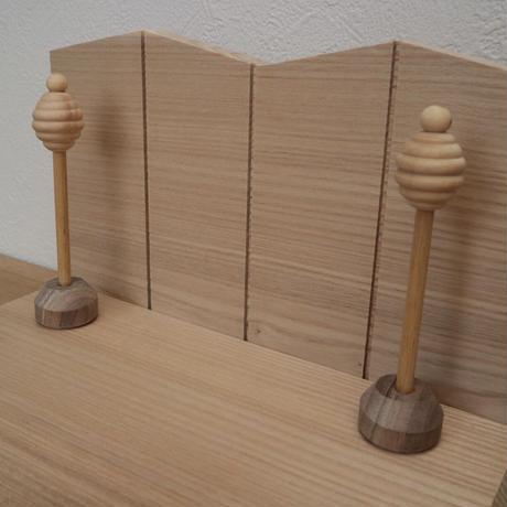 OHINASAMA  wood 次回予約11月予定