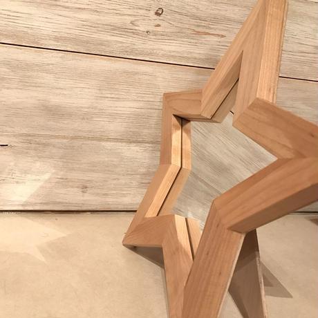 星型ミラー  スタンド  メープル