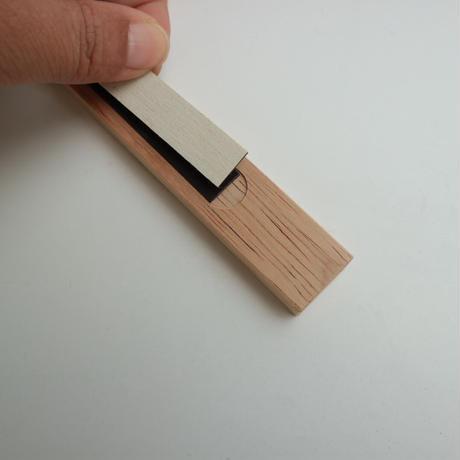 Sketch book & Wood bind holder