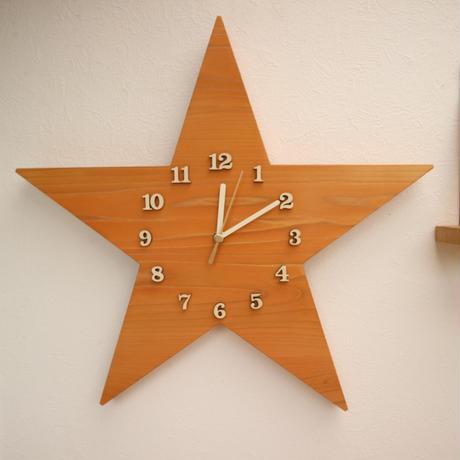 星時計  40cm  Oak