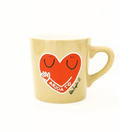84243 PGマグカップ Hug Heart
