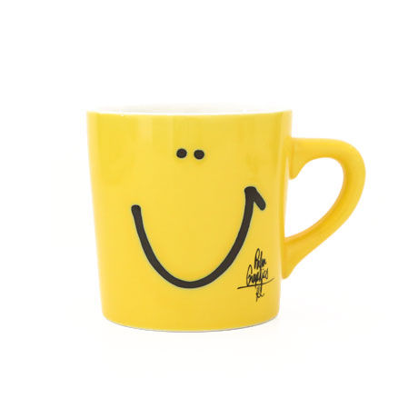 84240 PGマグカップ SMILE YELLOW