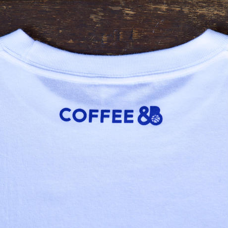 PLAYER Tシャツ(more coffee?) ホワイト