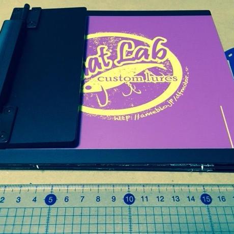 phat lab メジャーボード パープル×イエロー 折り畳み式