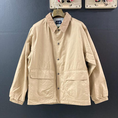 「THE UNION」THE FABRIC / SLOW UP COACH JACKET / color - BEIGE
