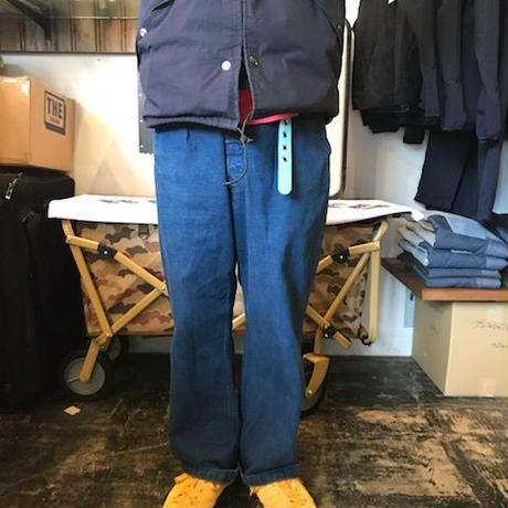 WIDE DENIM / color - USED