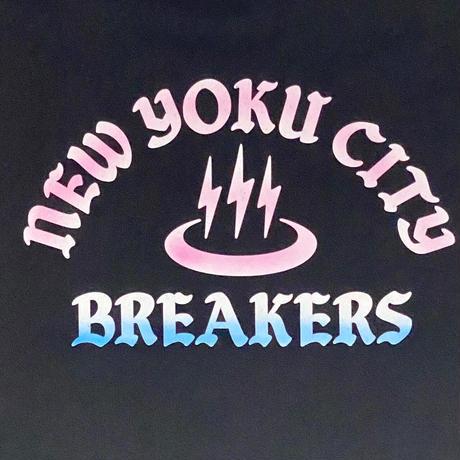 「THE UNIIN」NEWYOKU CITY BREAKERS SWEAT / color - BLACK