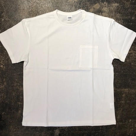 「THE FABRIC」POCKET TEE - color / WHITE