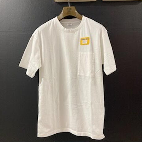 """「THE UNION」 THE FABRIC / """"THE POCKET QD"""" / color - WHITE"""