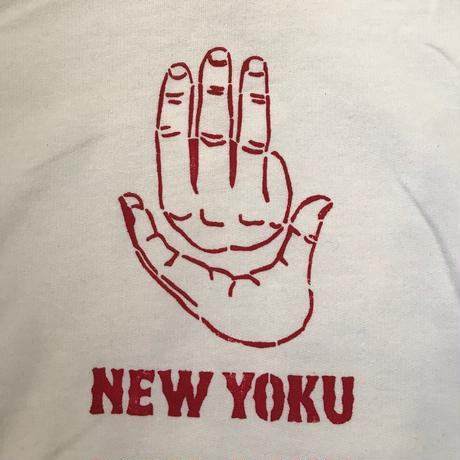 「THE UNIIN」HAND SIGN PARKER / color - WHITE