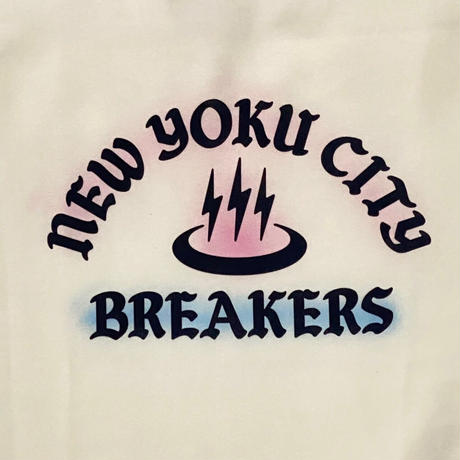 「THE UNIIN」NEWYOKU CITY BREAKERS SWEAT / color - WHITE