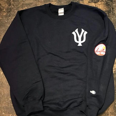 「THE UNIIN」NEW YOKU Jankees SWEAT / color - NAVY
