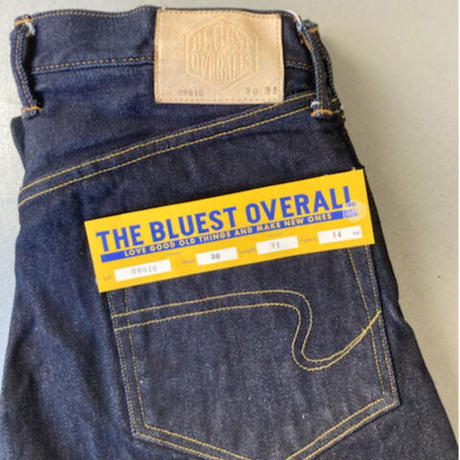 「THE UNION」THE BLUEST OVERALL  /  REIWA  COTTN YARN DENIM PANTS  /  color - INDIGO BLUE