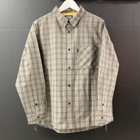 「THE UNION」THE FABRIC / CHECK STAR SHIRTS / color - GREY