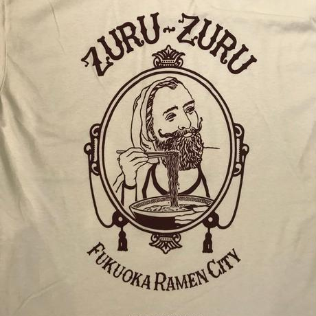 「ZURU-ZURU」TEE 2018  / color - WHITE/RED