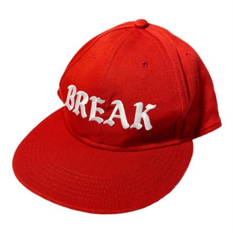 """「THE UNIIN」NEWYOKU CITY BREAKERS """"BREAK"""" CAP / color - RED"""