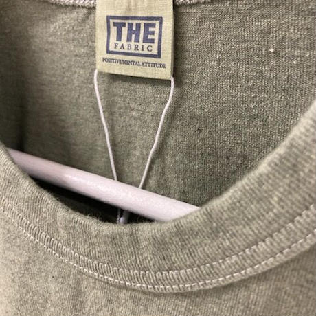 「THE UNION」THE FABRIC / PLAIN TEE / color - OLIVE