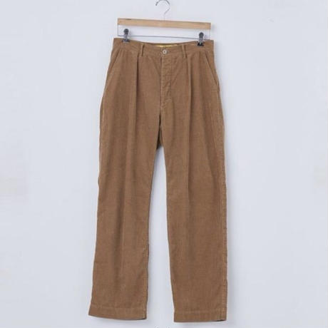 WIDE 'CORDUROY' / color - BROWN