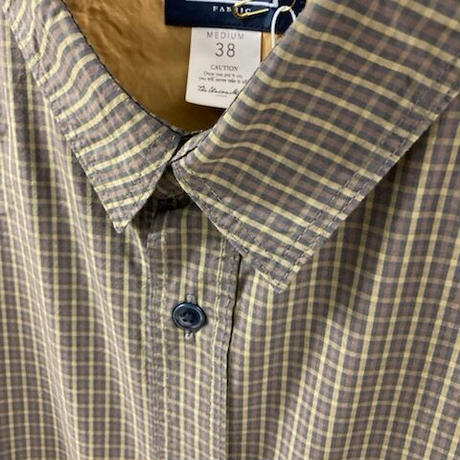 「THE UNION」THE FABRIC / CHECK STAR SHIRTS / color - BROWN