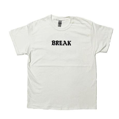 "「THE UNIIN」THE ""BREAK"" TEE  / color - WHITE"