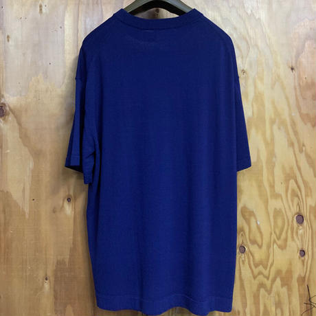 「THE UNION」THE FABRIC / THE KNIT POKET Tee FFM別注 / color - NAVY