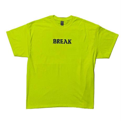 "「THE UNIIN」THE ""BREAK"" TEE  / color - YELLOW"