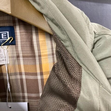 「THE UNION」THE FABRIC / NYLON LIGHT OVER COAT / color - OLIVE