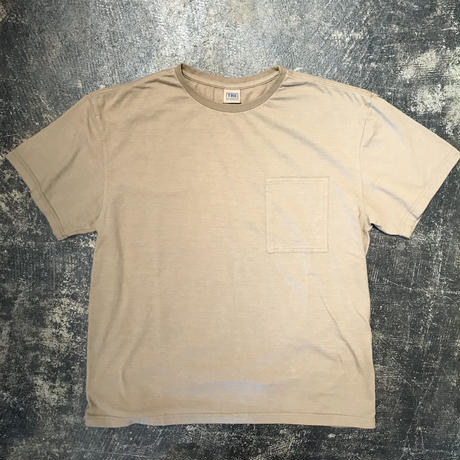 「THE FABRIC」POCKET TEE - color / BEIGE