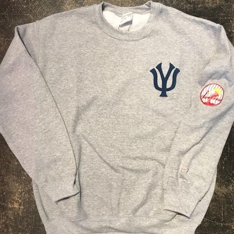 「THE UNIIN」NEW YOKU Jankees SWEAT / color - GREY