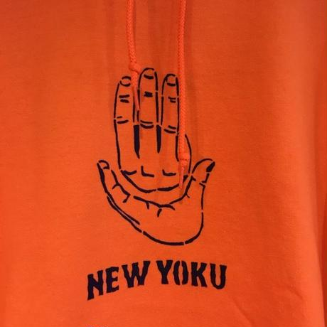 「THE UNIIN」HAND SIGN PARKER / color - ORANGE