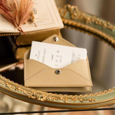 エンベロープ 型カードケース(名刺入れ) ヴォー・エプソン/イヴォアール