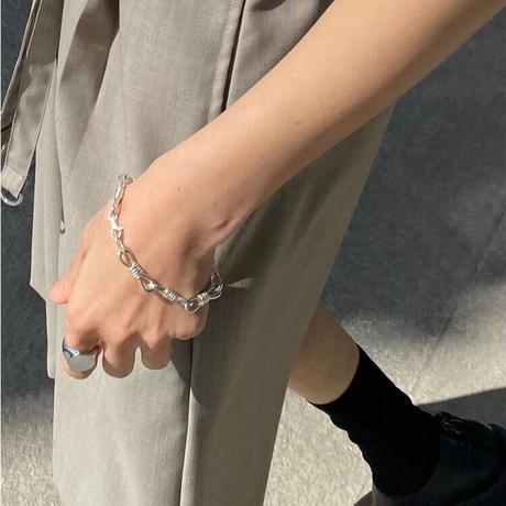 screw chain bracelet  (S21-002)
