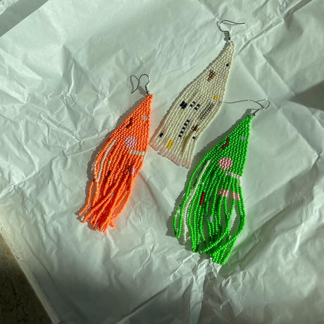 hand made beads Pierce1 (3color)