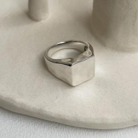 square vintage ring (S21-001)