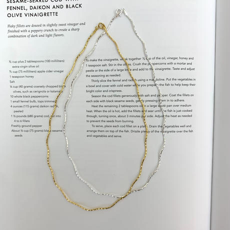 Wave necklace   (N2103-S)