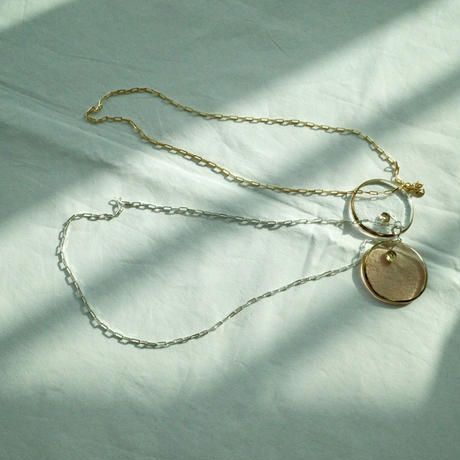 simple out necklace  (N19-004)