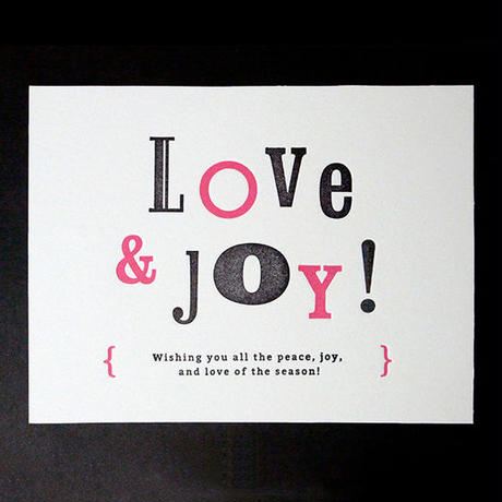 Message Card #02 : LOVE & JOY!