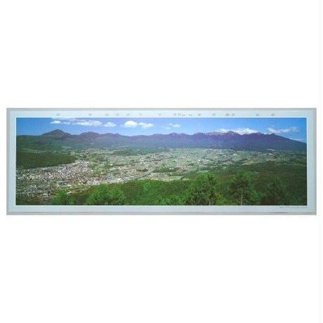大型パノラマポスター「八ヶ岳連峰」
