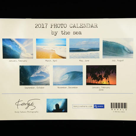 2017 PHOTO CALENDAR  『by the sea』PC2017-1