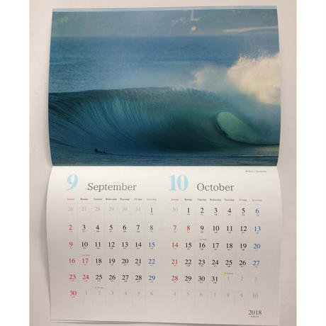 2018 PHOTO CALENDAR  『by the sea』PC2018-1