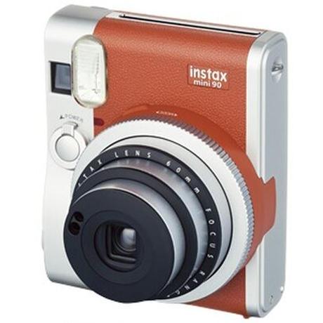 instax mini 90 ネオクラシック ブラウン