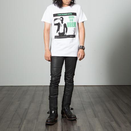 Gelatin What the Heck  シルクスクリーンTシャツ (メンズ&レディス)