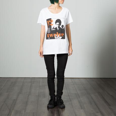 Gelatin  シルクスクリーンTシャツ twelve  (メンズ&レディス)