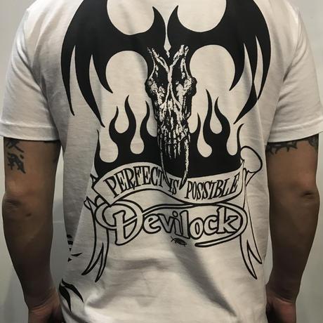 【DEVILOCK生誕20年記念プロジェクト】 DEVILOCK x RISK  スペシャルコラボTシャツ