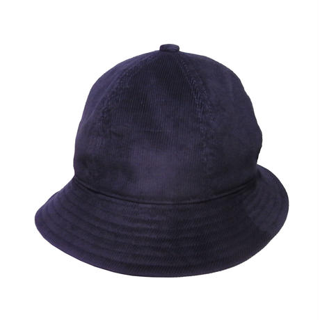 6P HAT   CORDUROY  BLACK
