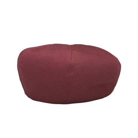 NEWSBOY CAP BURGUNDY