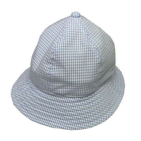 "6P HAT   ""GINGHAM CHECK LIGHT BLUE"""