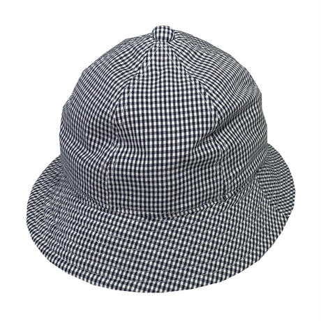 "6P HAT   ""GINGHAM CHECK NAVY"""